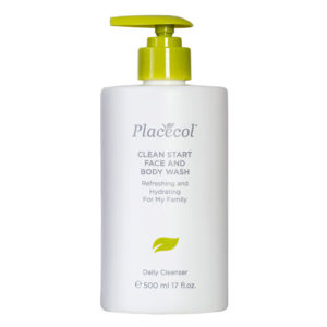 Placecol Clean Start Face and Body Wash